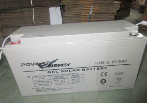 Tl150-12 12V150ah солнечной батареи Deepcycle гелеобразный электролит аккумуляторной батареи