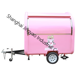 ヨーロッパ規格のスクーターのケイタリングの人力車のホットドッグの食糧トラック