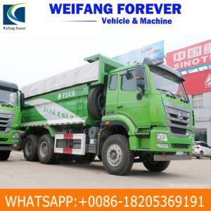 Gebruikte 370HP HOWO 10 de Kipper van de Vrachtwagen van de Stortplaats van Wielen 6X4 met Goede Voorwaarde voor Afrika