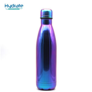 Impresión UV aislar de acero inoxidable botella