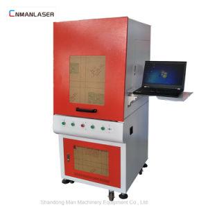 シリンダースライバのための30Wによって囲まれているカバーファイバーレーザーのマーキングの彫版機械