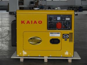 KAIAO gerador de mais vendidos a partir de 3-10kw gerador silenciosa com marcação ISO SGS BV