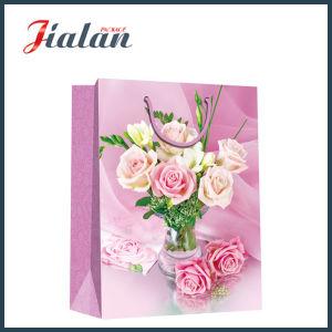 발렌타인 데이 Roses 4c Printed Gift Packaging Gift Paper Bag