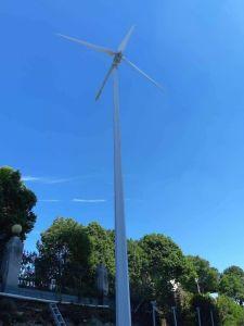 mulino a vento del generatore di turbina del vento 5kw con il tester elettrico