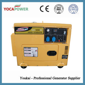 5kw Moteur diesel refroidi par air Silencieux générateur diesel de puissance définie