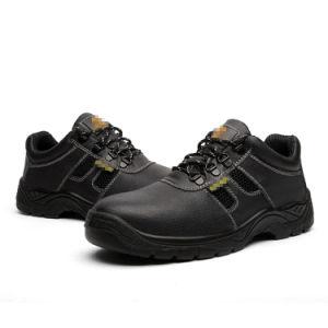 Corte bajo industrial puntera de zapatos de trabajo