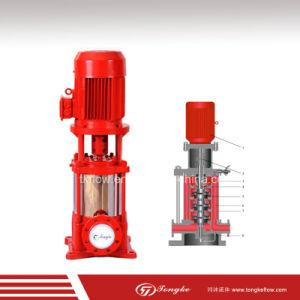 Hidráulica Vertical compacto de la bomba de agua contra incendios