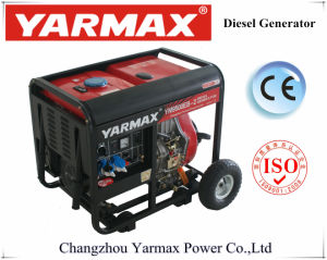 Yarmax marcação ISO9001 Aprovado 6kVA 6.5kVA Tipo Aberto Grupo Gerador Diesel Grupo Gerador do Motor Diesel