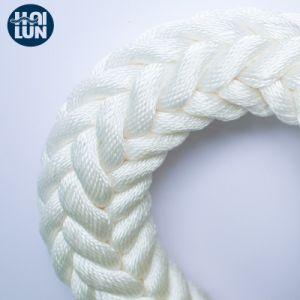 極度の品質PPのマルチフィラメントの倍の編みこみの係留ロープ