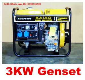 2.8kw/3kVA Home Use Diesel Generator mit CER-ISObv SGS Hot Sale!
