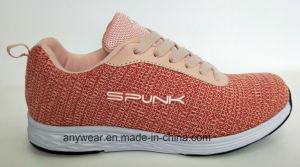 Nuevo diseño Dama zapatillas de deportes de gimnasio con Flyknit superior, para hombres y mujeres (237)