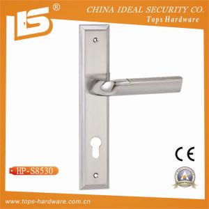 高品質亜鉛合金のアルミニウムドアハンドル鋼鉄亜鉛合金の版(HP-S8530)