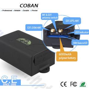 Vehículo de GPS Tracker Tk104 6000mAh Batería de larga duración corta Sos / Motor / Control de voz