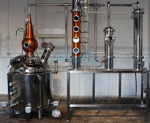 distillatore di rame di spirito del distillatore di Moonshine 600L/whisky/vodka