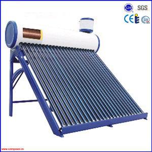 統合された銅のコイルの真空管の太陽給湯装置
