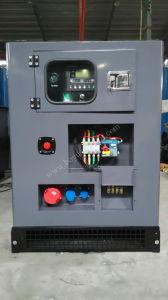 Cummins-wassergekühlter Motor-Kabinendach-Typ Druckluftanlasser-Dieselgenerator 300kw