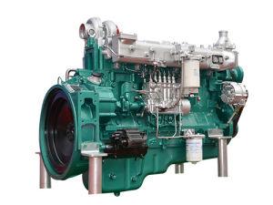 De echte Mariene Dieselmotor Yuchai Yc6m280c van de Waterkoeling