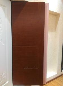 Portello di legno della camera da letto interna moderna di stile per il progetto