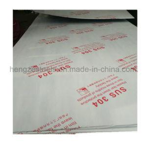 Strato dell'acciaio inossidabile di prezzi di fabbrica SS304 SS316 con la pellicola del PVC