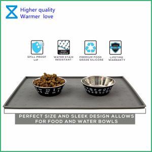 De Fabriek van China past het Voeden van het Huisdier van het Silicone Matten de Van uitstekende kwaliteit voor de Katten van de Hond aan