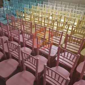 イベントのための木製の子供のChiavariの子供の宴会の椅子