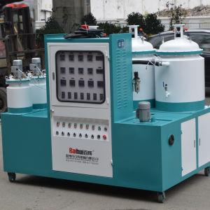 カラータンクが付いている80の端末のコンベヤーのタイプPUの注ぐ機械
