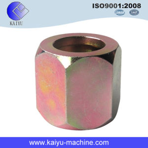 Fatto in Cina Carbon Steel Bsp NPT Back Hex Pipe Nuts
