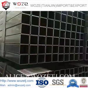 온화한 탄소 용접 금속 ERW 까만 철 강관 관