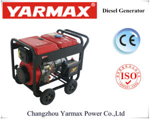 Il tubo d'acciaio quadrato 5kVA apre il tipo generatore del diesel