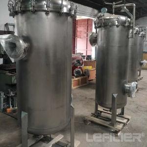 Bolsa de acero inoxidable de la caja del filtro para tratamiento de agua