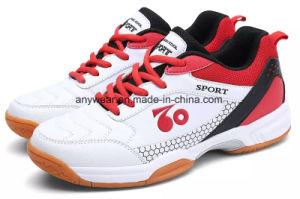 Nueva llegada Bádminton Squash Tenis de Mesa Calzados zapatos zapatillas (806)