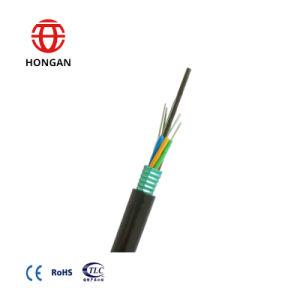 288 Optische Kabel van de Vezel van de Wijze G652D van de kern de Gepantserde Lucht Enige