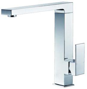 透かしの正方形の真鍮の台所の流しのミキサー(HD4241)