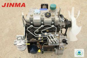 4WD Jinma Tractor agrícola de la rueda de 25 CV con la certificación de la EPA