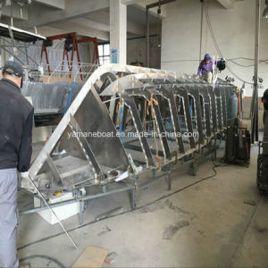 ステアリングコンソールセリウムが付いている6.5mアルミニウムボートは承認した