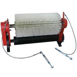Contactor rotativo motorizado do transportador de correia da escova de limpeza