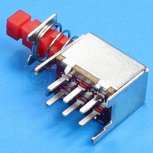 0.5A 30VDC Dpdt 6pin PCBターミナルが付いている小型押しスイッチ