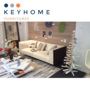 Keyhomeの販売のためのホーム家具の革ソファーファブリックソファー