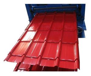 Galvalume pré-peint de couleur feuille de toiture Prix ondulé