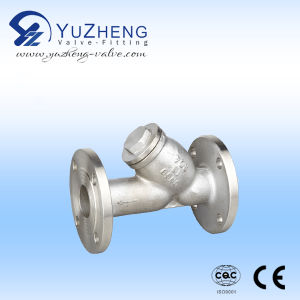 企業で使用されるステンレス鋼のフランジのYこし器