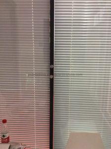 Entre o vidro de cegos para as partições do Office