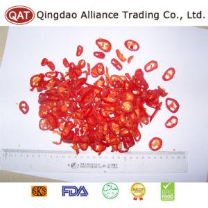 2017 Nouvelle récolte les anneaux de piment rouge congelée