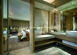 Estilo moderno y lujoso hotel de la vanidad de baño muebles de madera