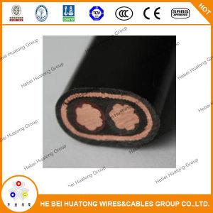 Assistere il cavo elettrico, assistere il cavo elettrico 2*8AWG +1*8AWG 600V