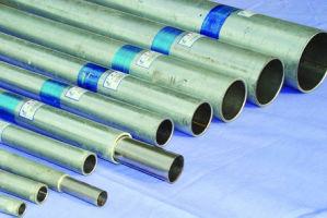 AISI 304は磨かれたステンレス鋼の円形の管および管を溶接した