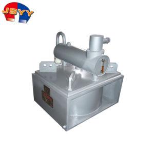La caldaia del fornitore incenerisce l'olio a blocchetti che arrotola il separatore elettromagnetico