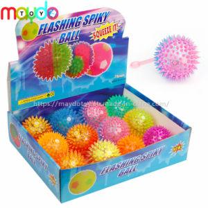 TPR Parpadear Spikey rebotando la bola de juguetes Yoyo