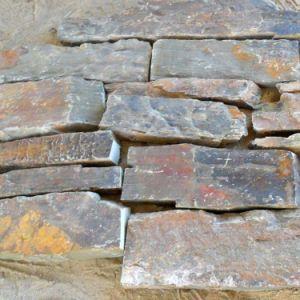 1120 Rusty naturelles lâche panneaux de placage de pierre et de Corner