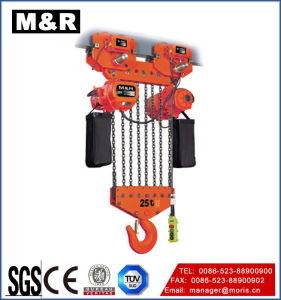 Single Speed를 가진 25t Electric Trolley Type Chain Hoist Electrical