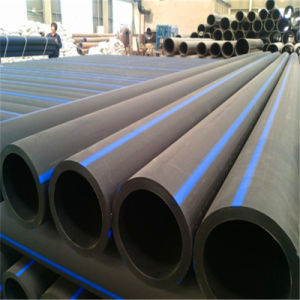 PE 80 Tubo de polietileno HDPE Wear-Resistance duradero